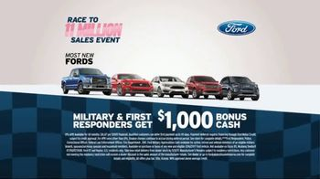 AutoNation Race to 11 Million Sales Event TV Spot, 'Ford Models' - Thumbnail 4