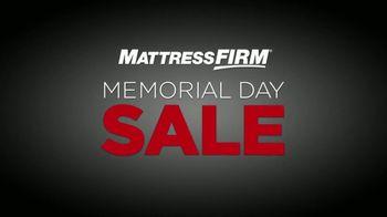Mattress Firm Memorial Day Sale TV Spot, 'Find Your Perfect Mattress' - Thumbnail 2