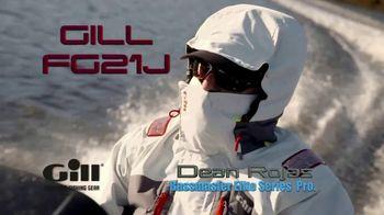 Gill FG2 Tournament Jacket TV Spot, 'Vortex Hood' Ft. Dean Rojas, Russ Lane - 13 commercial airings