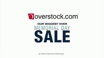 Overstock.com Memorial Day Sale TV Spot, 'Furniture and Rugs' - Thumbnail 1