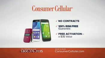 Consumer Cellular TV Spot, 'Get Just What You Need: Plans $10+ a Month' - Thumbnail 8