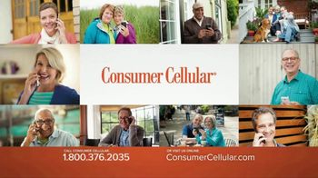 Consumer Cellular TV Spot, 'Get Just What You Need: Plans $10+ a Month' - Thumbnail 2