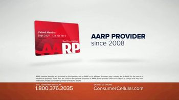 Consumer Cellular TV Spot, 'Get Just What You Need: Plans $10+ a Month' - Thumbnail 4