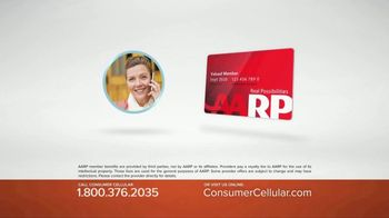 Consumer Cellular TV Spot, 'Get Just What You Need: Plans $10+ a Month' - Thumbnail 5