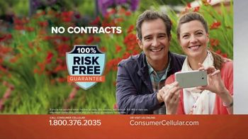 Consumer Cellular TV Spot, 'Get Just What You Need: Plans $10+ a Month'
