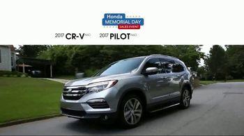 Honda Memorial Day Sales Event TV Spot, 'Don't Wait' [T2] - Thumbnail 3