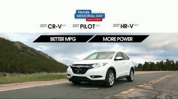 Honda Memorial Day Sales Event TV Spot, 'Don't Wait' [T2] - Thumbnail 4
