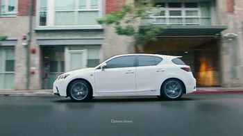 2017 Lexus CT TV Spot, 'The Luxury of Spontaneity' [T1] - Thumbnail 9