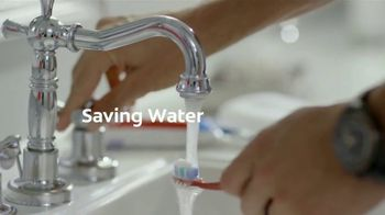 Colgate TV Spot, 'Saving Water With Michael Phelps & Colgate' - Thumbnail 2