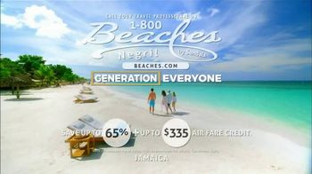1-800 Beaches Negril TV Spot, 'Family Again' Song by Erin Bowman - Thumbnail 6