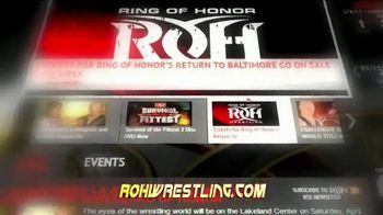 ROH Wrestling TV Spot, 'All the Action' - Thumbnail 2