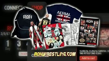 ROH Wrestling TV Spot, 'All the Action' - Thumbnail 3
