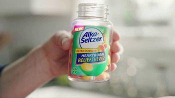 Alka-Seltzer Ultra Strength Heartburn Relief Chews TV Spot, 'Bliss' - Thumbnail 5
