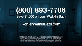 Kohler Walk-in Bath TV Spot, 'Calling on Ken' - Thumbnail 8