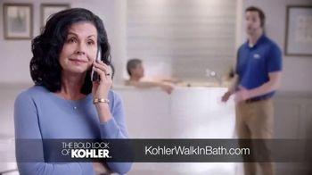 Kohler Walk-in Bath TV Spot, 'Calling on Ken' - Thumbnail 5