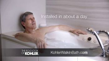 Kohler Walk-in Bath TV Spot, 'Calling on Ken' - Thumbnail 6