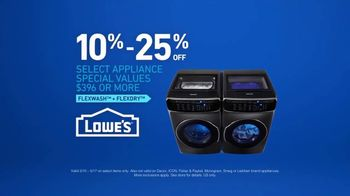 Lowe's TV Spot, 'Delicates: May Appliances' - Thumbnail 7