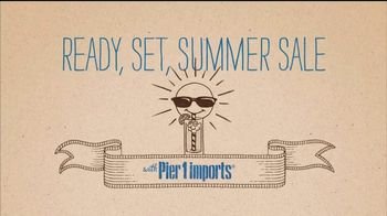 Pier 1 Imports Ready, Set, Summer Sale TV Spot, 'All Outdoor Is on Sale' - Thumbnail 1