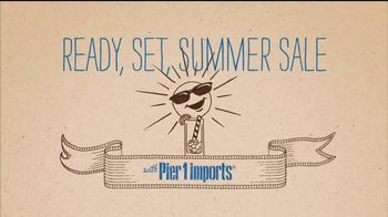 Pier 1 Imports Ready, Set, Summer Sale TV Spot, 'All Outdoor Is on Sale' - Thumbnail 2