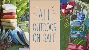 Pier 1 Imports Ready, Set, Summer Sale TV Spot, 'All Outdoor Is on Sale' - Thumbnail 3