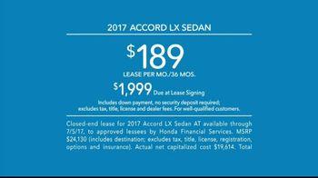 Honda Perfect Accord Sales Event TV Spot, 'Something New' [T2] - Thumbnail 9