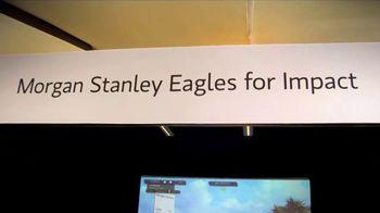 Morgan Stanley TV Spot, 'Eagles for Impact Challenge' - Thumbnail 2