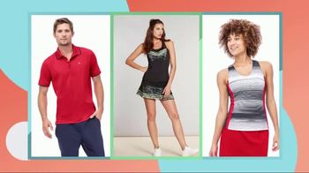 Tennis Warehouse Two Week Apparel Sale TV Spot, 'Look Great' - Thumbnail 2