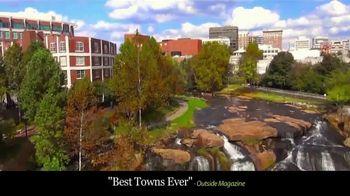 Visit Greenville SC TV Spot, 'Best Town Ever' - Thumbnail 1