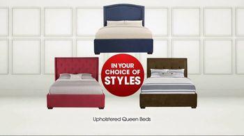 Rooms to Go TV Spot, 'Memorial Day: Queen Beds' - Thumbnail 5