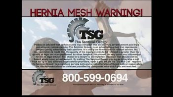 The Sentinel Group TV Spot, 'Hernia Mesh Implant' - Thumbnail 5