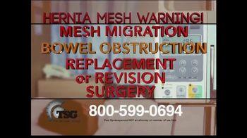 The Sentinel Group TV Spot, 'Hernia Mesh Implant' - Thumbnail 1