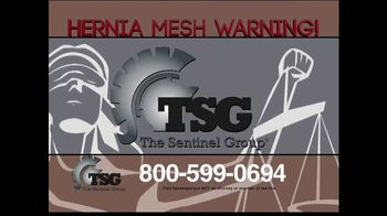 The Sentinel Group TV Spot, 'Hernia Mesh Implant' - Thumbnail 2
