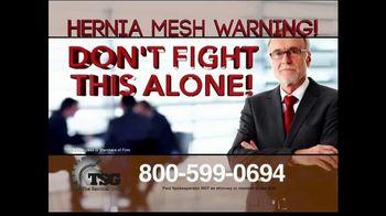 The Sentinel Group TV Spot, 'Hernia Mesh Implant' - Thumbnail 3