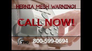 The Sentinel Group TV Spot, 'Hernia Mesh Implant' - Thumbnail 4