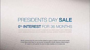 La-Z-Boy Presidents' Day Sale TV Spot, 'In-Home Designers' - Thumbnail 8