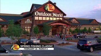 Bass Pro Shops 2018 Spring Fishing Classic TV Spot, 'Boxes and Boat Seats'