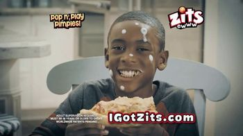 Zits Pop n' Play Pimples TV Spot, 'Pizza Guy' - Thumbnail 10