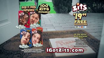Zits Pop n' Play Pimples TV Spot, 'Pizza Guy' - Thumbnail 9