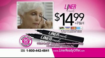 Liner Ready TV Spot, 'Semi-Permanent Eyeliner' - Thumbnail 9