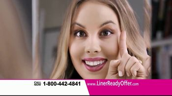 Liner Ready TV Spot, 'Semi-Permanent Eyeliner' - Thumbnail 6