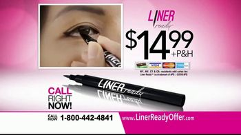 Liner Ready TV Spot, 'Semi-Permanent Eyeliner' - Thumbnail 8