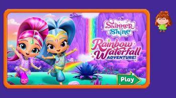 Shimmer and Shine: Rainbow Waterfall Adventure TV Spot, 'Jr. Gamer: Alyssa' - Thumbnail 3