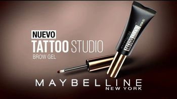 Maybelline Tattoo Studio Brow Gel TV Spot, 'Impacto' [Spanish] - Thumbnail 9
