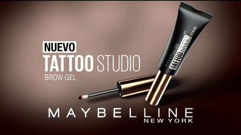 Maybelline Tattoo Studio Brow Gel TV Spot, 'Impacto' [Spanish] - Thumbnail 3