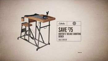Cabela's 2nd Amendment Classic Sale and Event TV Spot, 'Safe and Bench' - Thumbnail 6