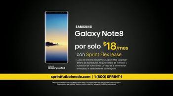 Sprint Fútbol Mode TV Spot, 'Ilimitado: Samsung Galaxy' [Spanish] - Thumbnail 7