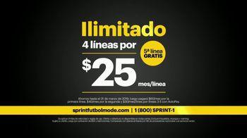 Sprint Fútbol Mode TV Spot, 'Ilimitado: Samsung Galaxy' [Spanish] - Thumbnail 8