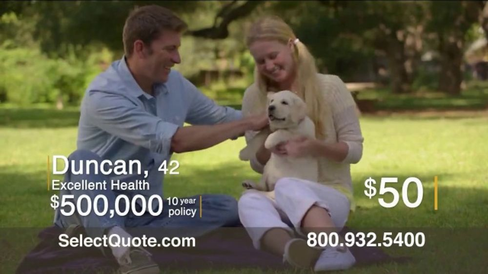 Select Quote Stunning Select Quote TV Commercial 'Duncan' ISpottv