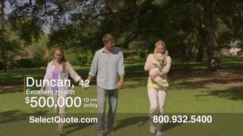 Select Quote TV Spot, 'Duncan' - Thumbnail 2