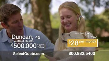 Select Quote TV Spot, 'Duncan' - Thumbnail 4